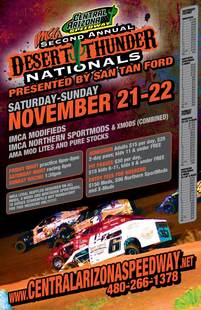 2015 DESERT THUNDER NATIONALS